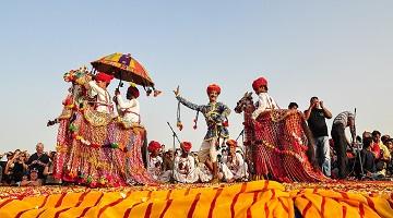 PUSHKAR FAIR WITH JAIPUR, UDAIPUR AND JODHPUR